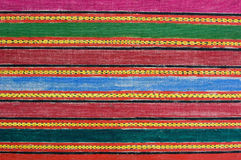 Amostra tibetana de pano Imagens de Stock