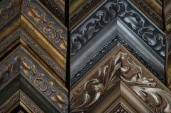 Amostras da moldura para retrato imagem de stock