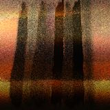 Amostras de folha de cobre metálicas da cor do brilho com efeitos sujos Folha de papel textured da areia Fundo de superfície do G imagens de stock