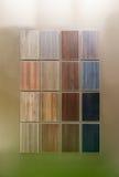 Amostras de madeira Fotos de Stock