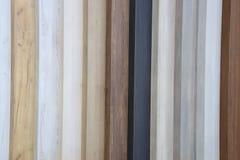 Amostras de madeira Fotografia de Stock Royalty Free