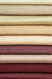Amostras de matéria têxtil foto de stock