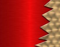 Amostras de metal vermelho Fotografia de Stock Royalty Free