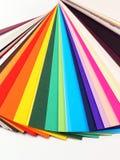 Amostras de papel para cartões Imagem de Stock