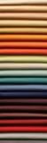 Amostras de tela Fotografia de Stock