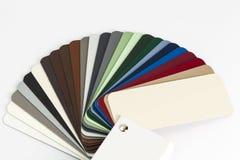 Amostras do modelo de cor do cartão Imagem de Stock