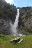 Amotan vattenfall, Norge Arkivfoto