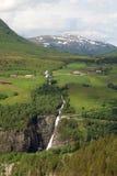 Amotanvallei, Noorwegen royalty-vrije stock fotografie
