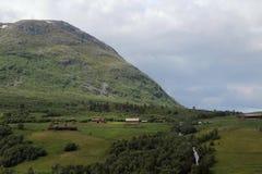 Amotanvallei, Noorwegen stock afbeelding
