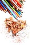 Amour à dessiner Images stock