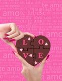 Amour à disposition Photo stock