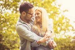 Amour à la première vue Photo libre de droits