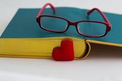 Amour à lire, concept Photographie stock libre de droits