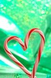 Amour à Noël Photos stock