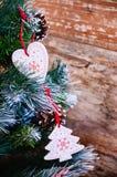 Amour à Noël Images stock