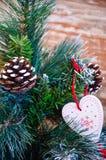 Amour à Noël Image libre de droits