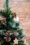 Amour à Noël Photographie stock