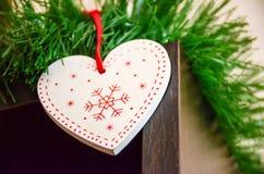 Amour à Noël Image stock