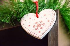 Amour à Noël Images libres de droits