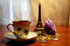 Amour à Paris Image stock