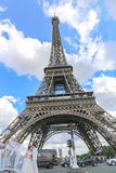 Amour à Paris - Tour Eiffel Image libre de droits