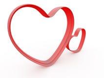 Amour 3D illustration libre de droits
