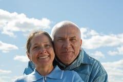 Amour aîné Photos libres de droits