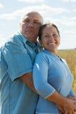 Amour aîné Image libre de droits
