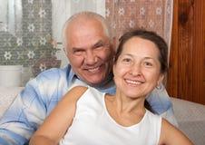 Amour aîné Images libres de droits