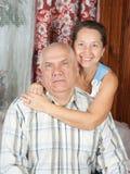 Amour aîné Photo stock
