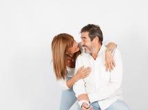 Amour aîné Images stock