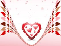 Amour abstrait illustration de vecteur