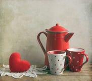 Amour abstrait de coeur image libre de droits