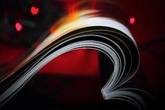 Amour abstrait de revue Image libre de droits