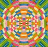 Amour abstrait pour tricoter la conception Image stock