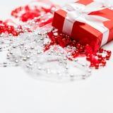 Amour actuel de boîte-cadeau de femme de Special Image stock