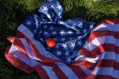 Amour Amérique Photographie stock libre de droits
