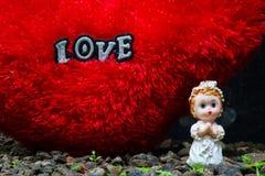 Amour angélique Image stock