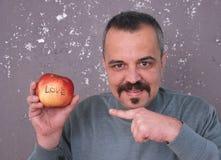 Amour Apple Image libre de droits
