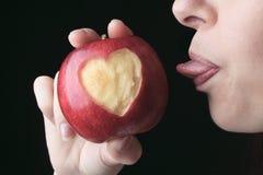 Amour Apple Photos libres de droits