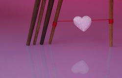 Amour attrayant d'amour populaire Photographie stock libre de droits