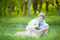 Amour au chien Images libres de droits