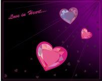 Amour au coeur. Photos stock