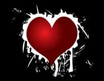 Amour au coeur Images libres de droits