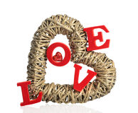 Amour au coeur Images stock