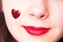 Amour au jour de valentines Photos libres de droits