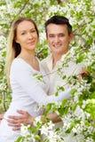 Amour au printemps Images libres de droits
