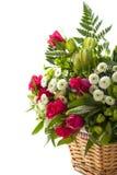 Amour avec des roses Photo libre de droits