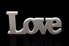 Amour avec l'espace de copie Image stock