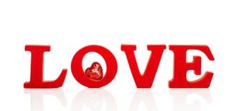 Amour avec le coeur Images libres de droits